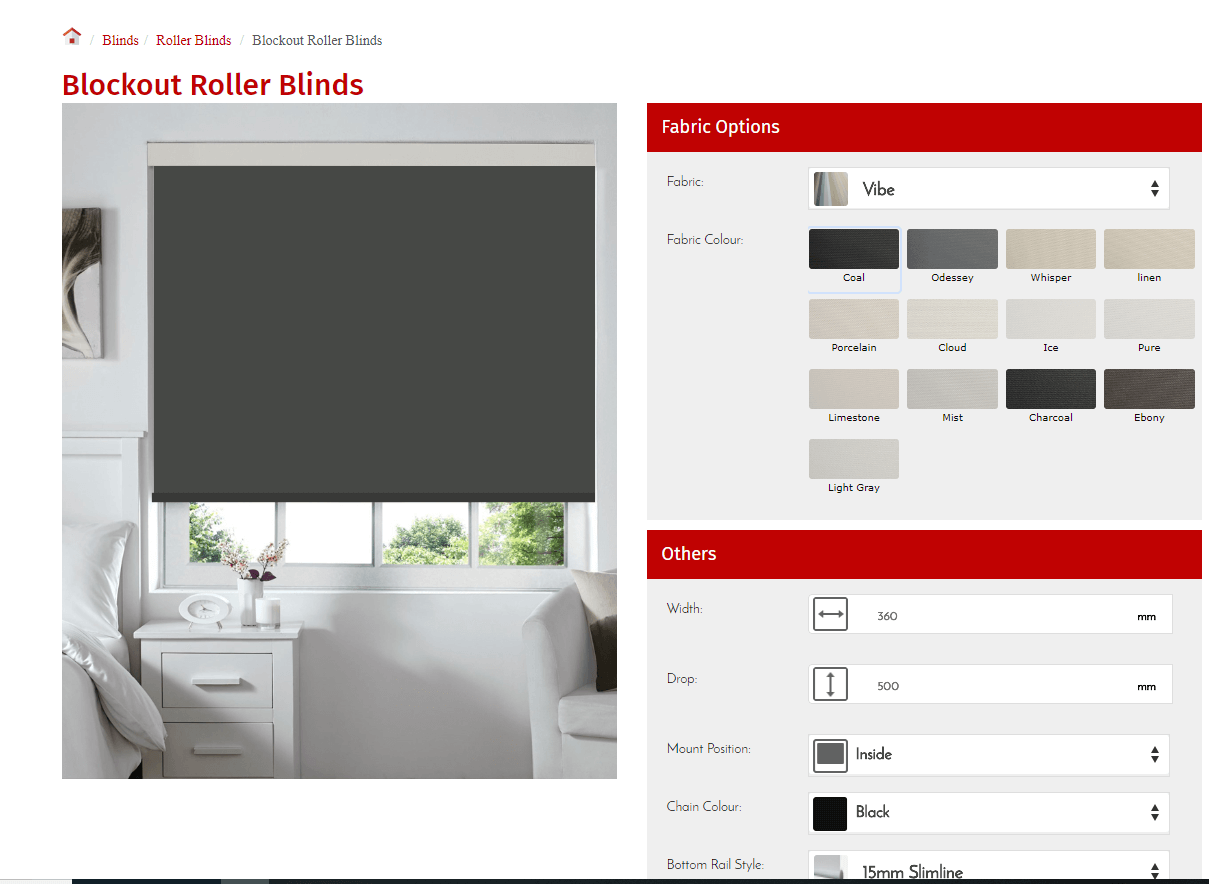 Sell Blinds Online