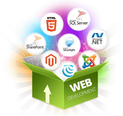We are experts in .net, SQL server, html5, Silverlight, PHP, jQuery and WordPress